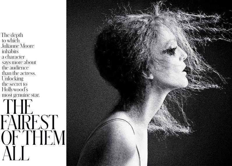 Джулианна Мур для THE NY TIMES T STYLE MAGAZINE DESIGN (весна 2013)