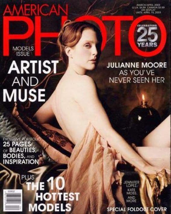 Джулианна Мур на обложках журналов