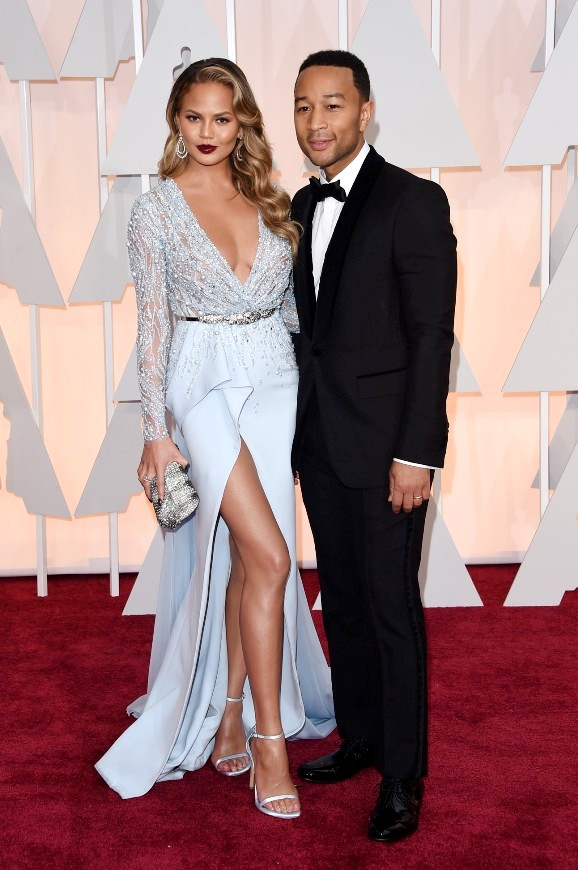 """Звездные пары на ковровой дорожке церемонии """"Оскар 2015"""""""