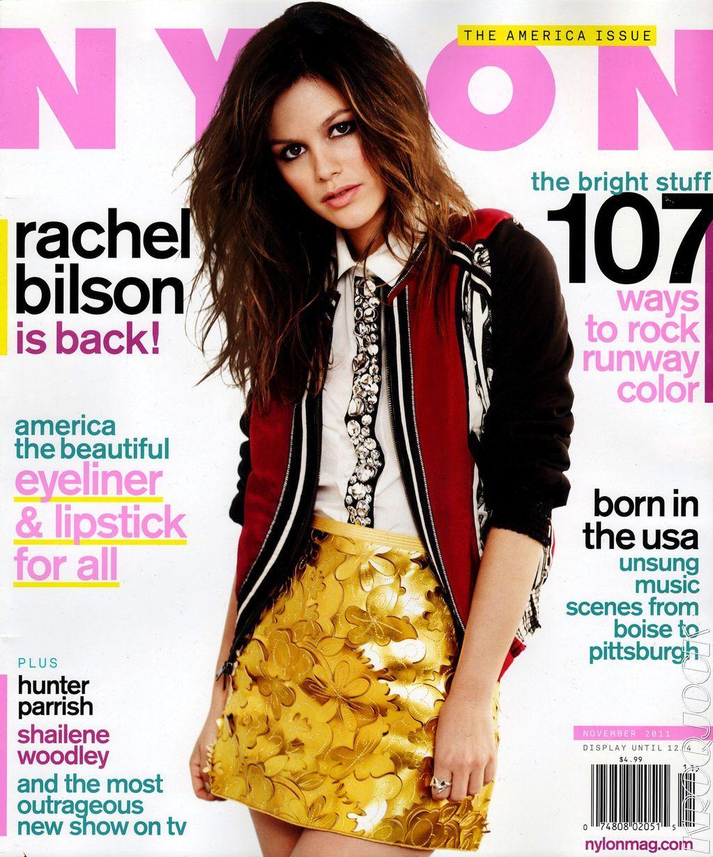 Рейчел Билсон на обложках журналов