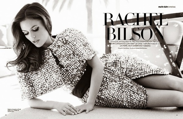 Рейчел Билсон для Marie Claire Mexico, 2013
