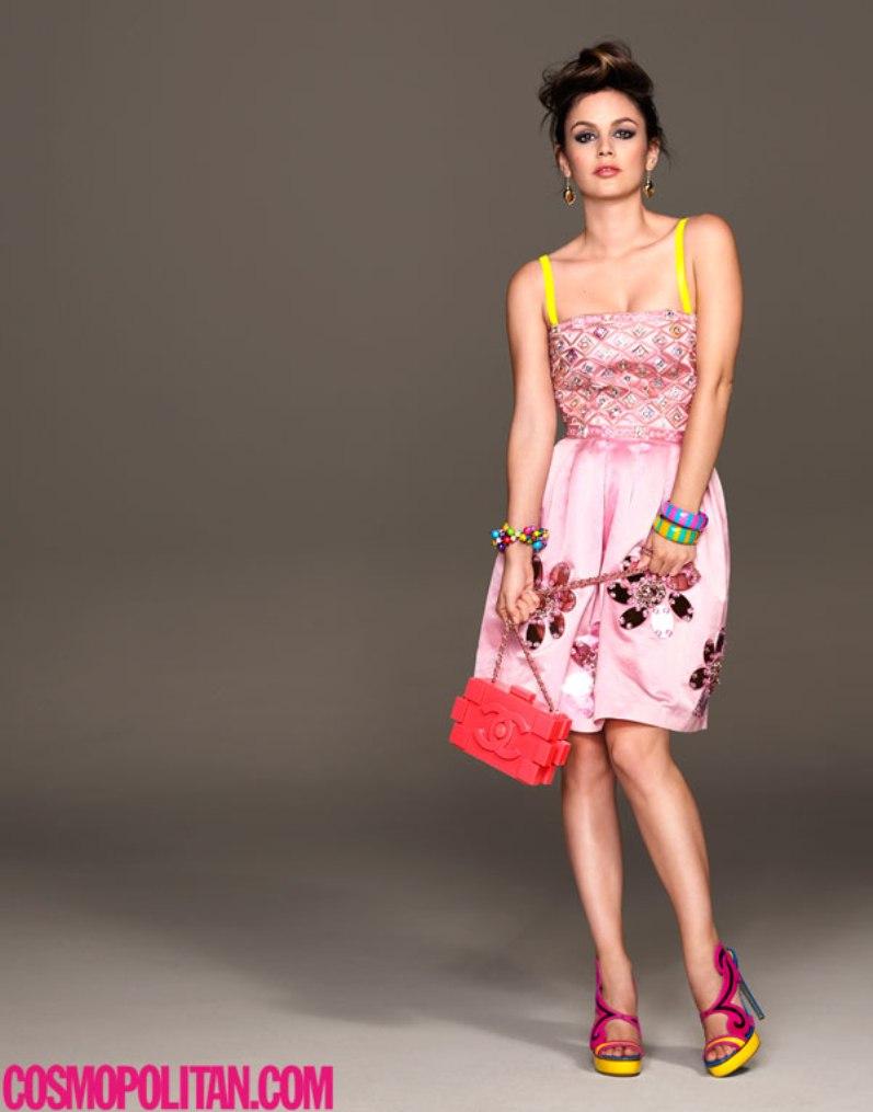 Рейчел Билсон в августовском номере журнала Cosmopolitan UK