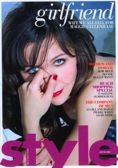 Мэгги Джилленхал на обложках журналов