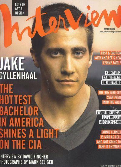 Джейк Гилленхаал на обложках журналов