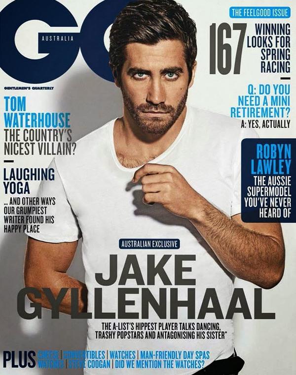 Джейк Джилленхол для GQ Australia, ноябрь 2013