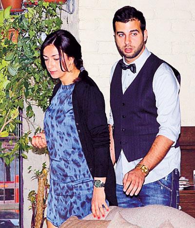 Иван Ургант с женой Натальей