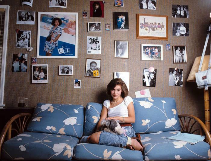 Фотосессия Алиссы Милано в 1986 году