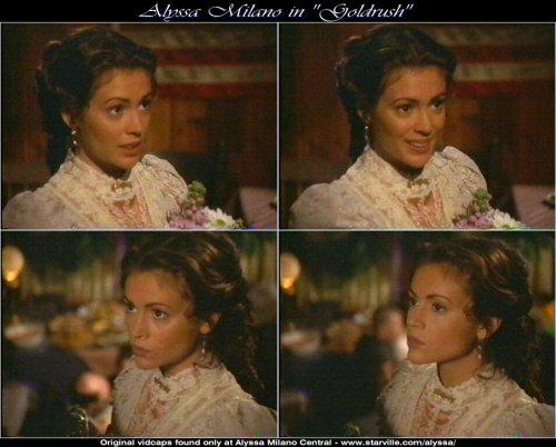 """Алисса Милано. Фотографии из фильма """"Золотая лихорадка"""""""