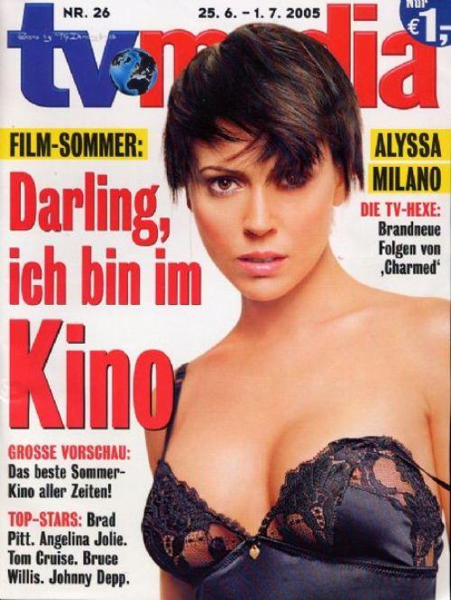 Алисса Милано на обложках журналов
