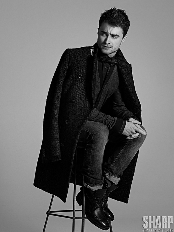 Дэниел Редклифф для журнала SHARP, 2013