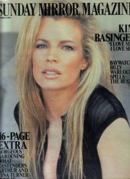 Ким Бесинджер на обложках журналов