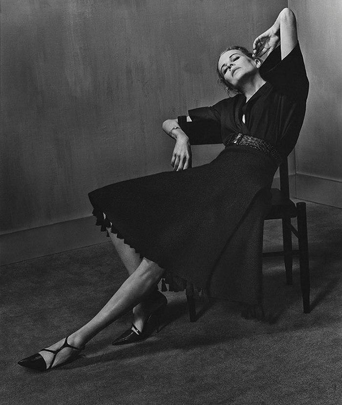 Ким Бейсингер для Interview, март 2014