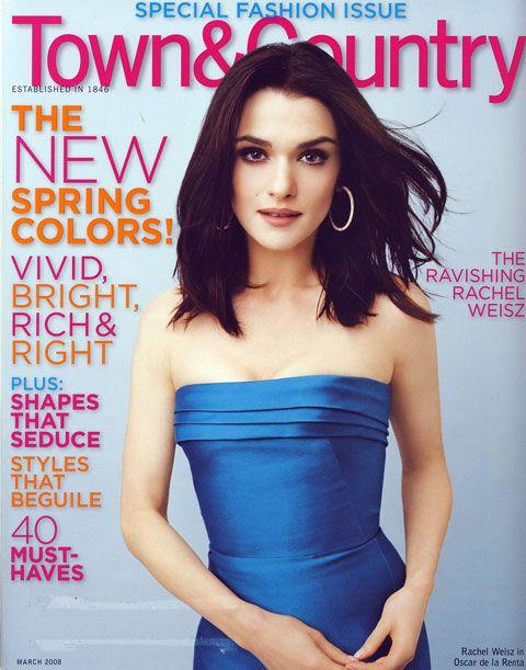 Рэйчел Вайс на обложках журналов