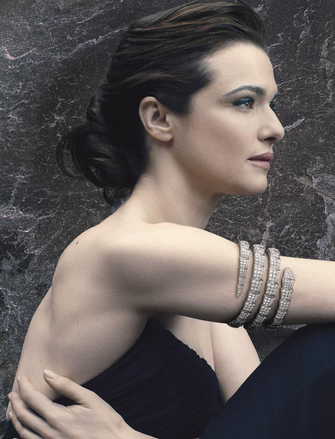 Рэйчл Вайс в рекламной кампании BVLGARI