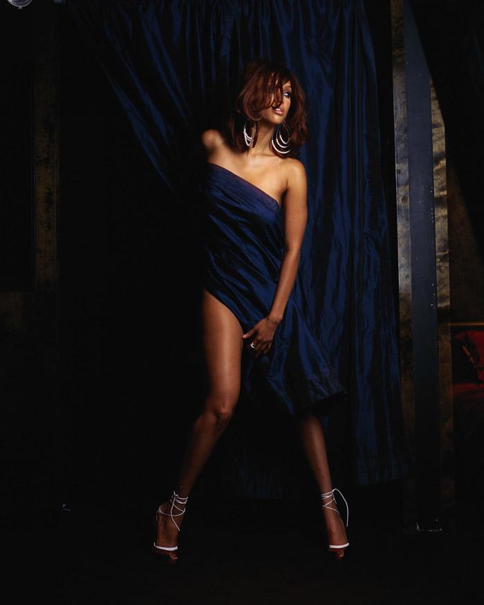 Тайра Бэнкс в фотосессии для журнала King