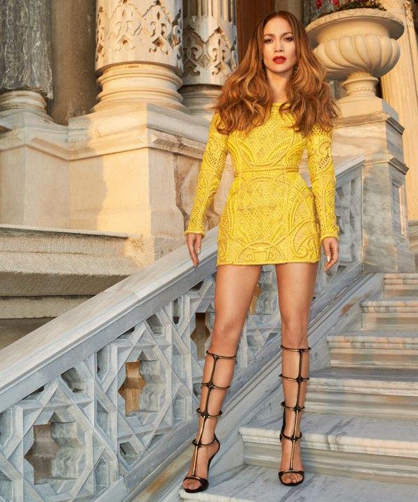 Дженнифер Лопес для Harper's Bazaar US