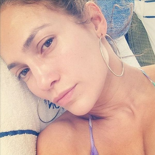 Дженнифер Лопес без макияжа