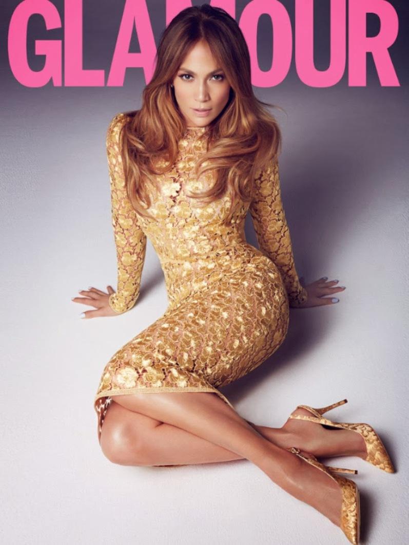Дженнифер Лопес для Glamour UK, март 2014
