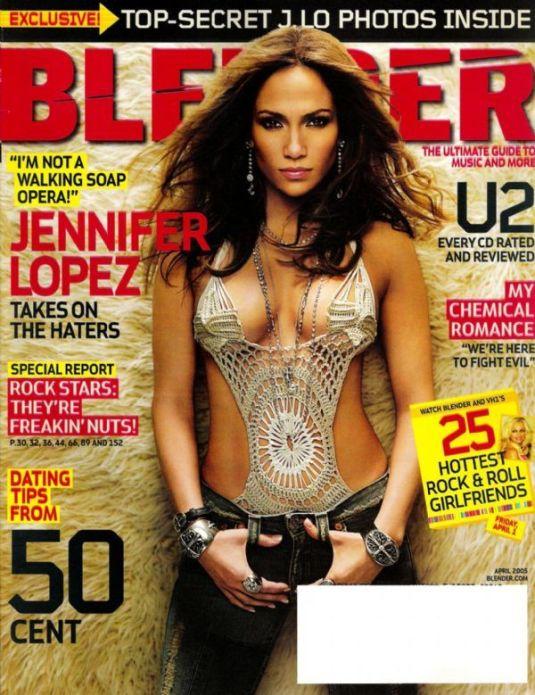 Дженнифер Лопес на обложках журналов