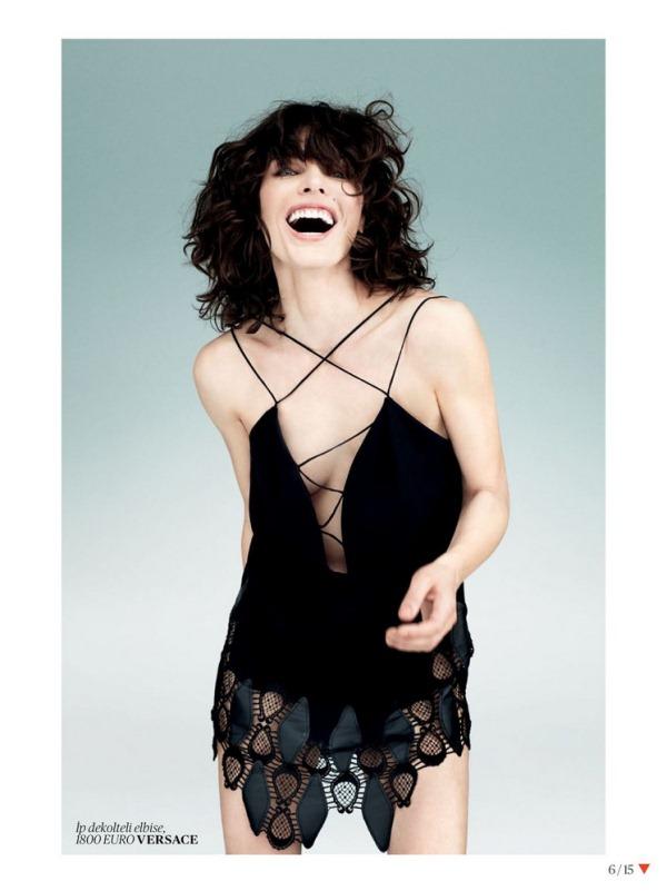 Милла Йовович для Vogue Turkey