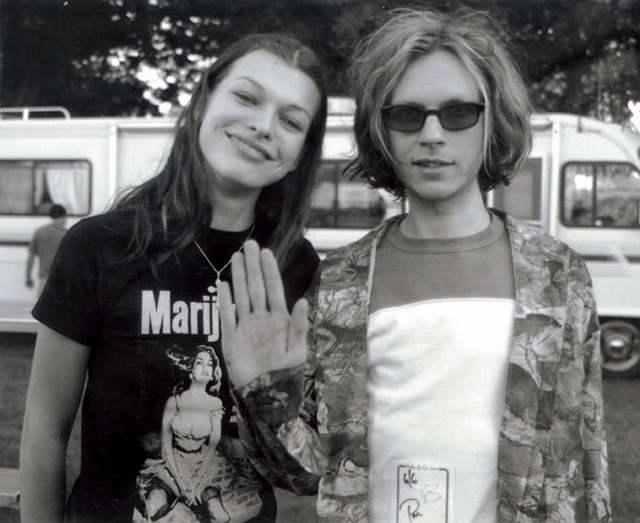 Милла Йовович и Beck