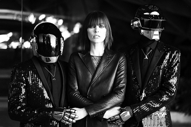 Милла Йовович и Daft Punk для CR FASHION BOOK F\W 13.14
