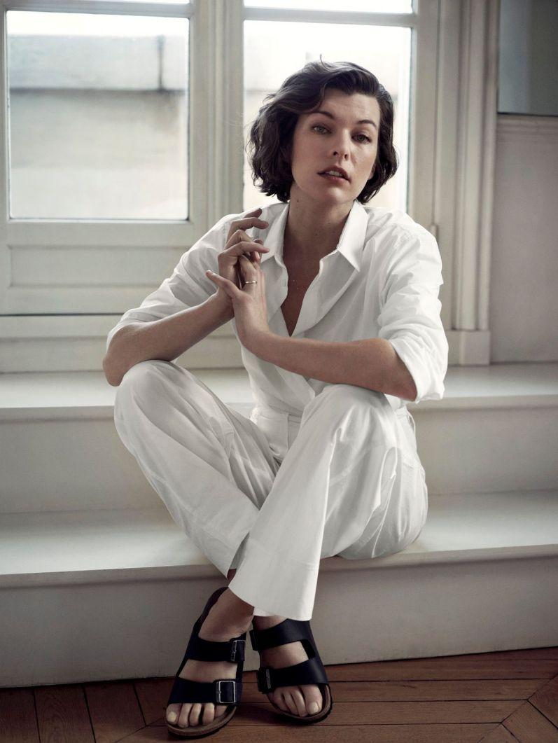 Милла Йовович в фотосессии Эннмарик ван Дриммелен для THE EDIT Magazine, декабрь 2013