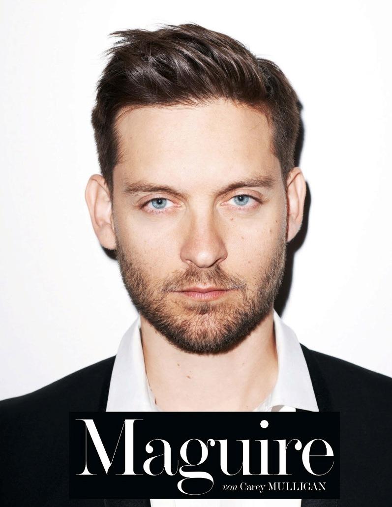 Тоби Магуайр для июньского INTERVIEW Magazine Germany ... тоби магуайр