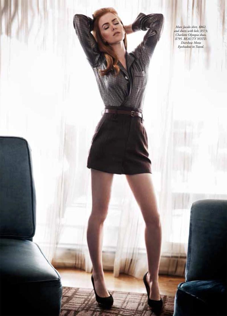 Айла Фишер для летнего HARPER'S BAZAAR AUSTRALIA (июнь-июль 2013)