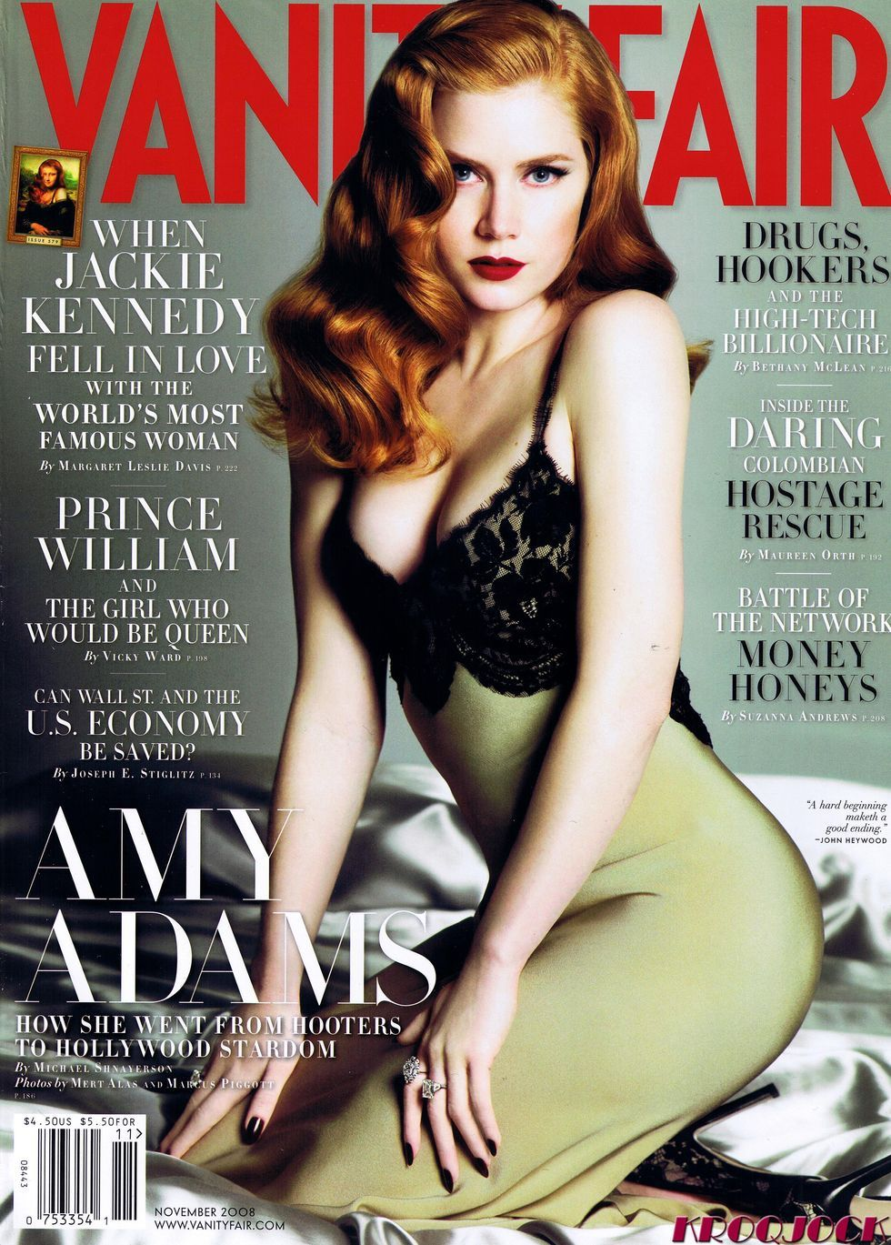 Эми Адамс на обложках журналов