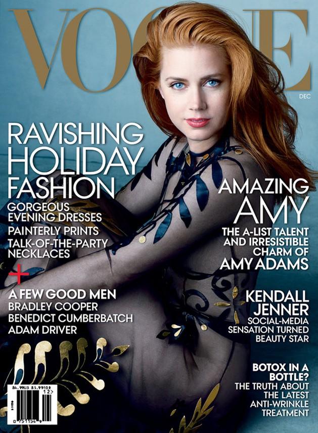 Эми Адамс и Тим Бертон для Vogue US, декабрь 2014