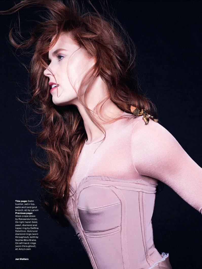 Эми Адамс для июльского выпуска Elle UK