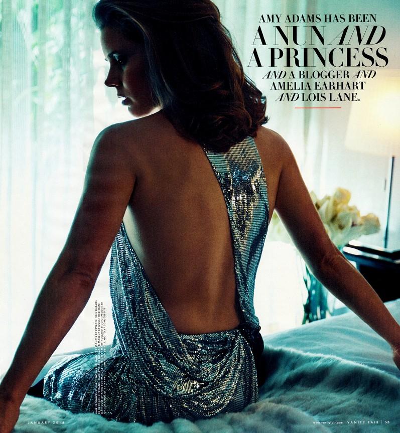 Эми Адамс для Vanity Fair USA, январь 2014
