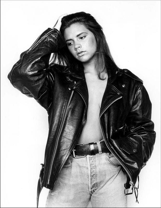 Виктория Бекхэм в молодости. Уникальная фотосессия