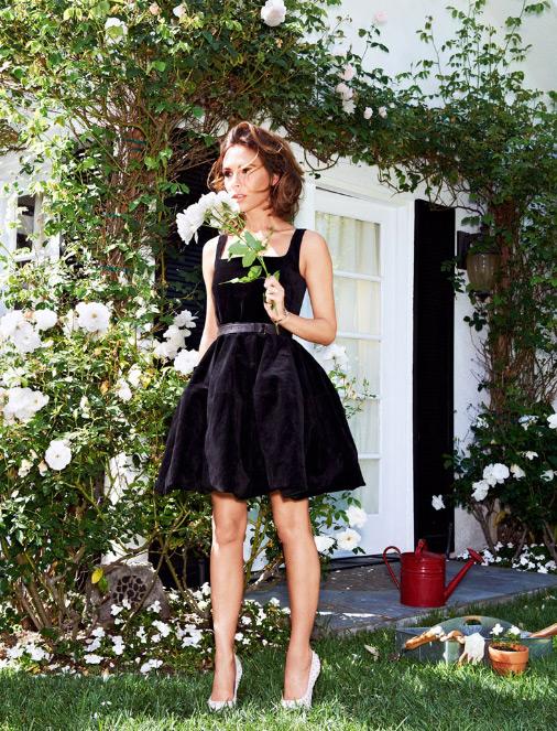 Виктория Бэкхэм в Glamour US