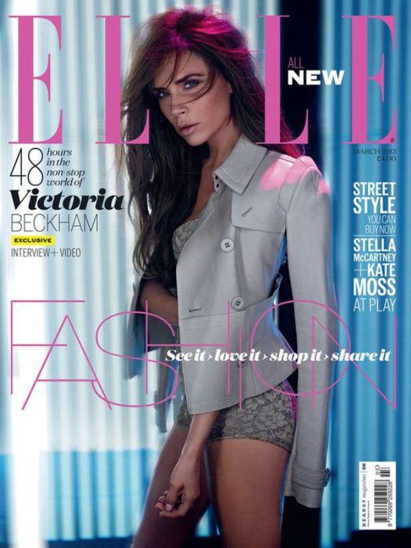 Виктория Бекхэм для Elle UK