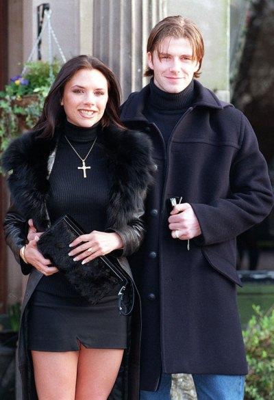 Дэвид и Виктория Бекхэмы
