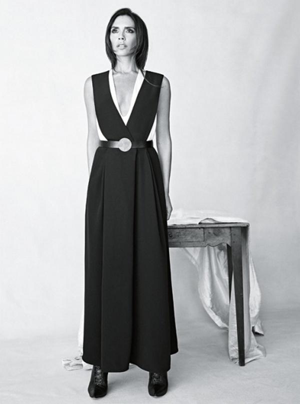 Виктория Бекхэм в фотосессии Патрика Демаршелье для Vogue Australia, август 2015