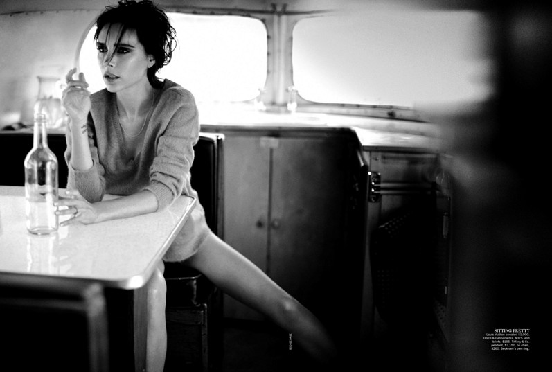 Виктория Бекхэм для журнала Vogue AU, сентябрь 2013