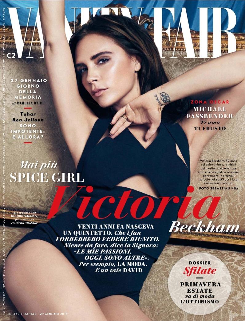 Виктория Бекхэм для Vanity Fair Italia, январь 2014