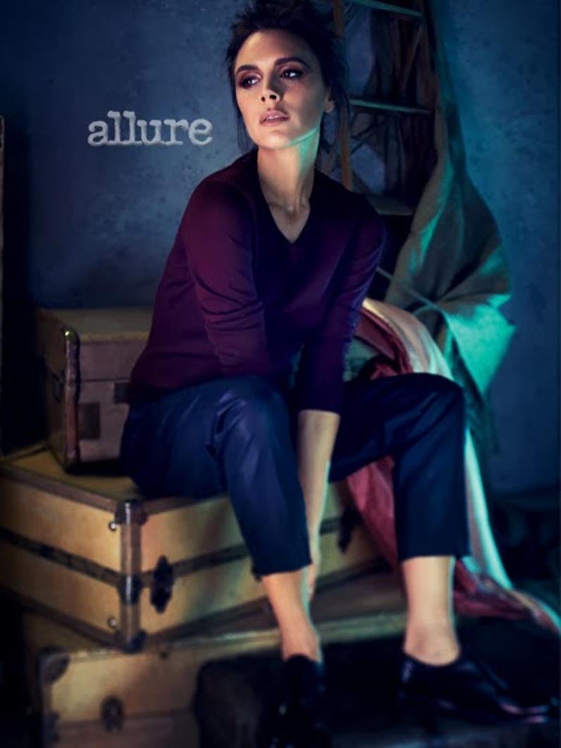 Виктория Бекхэм для Allure US, март 2014