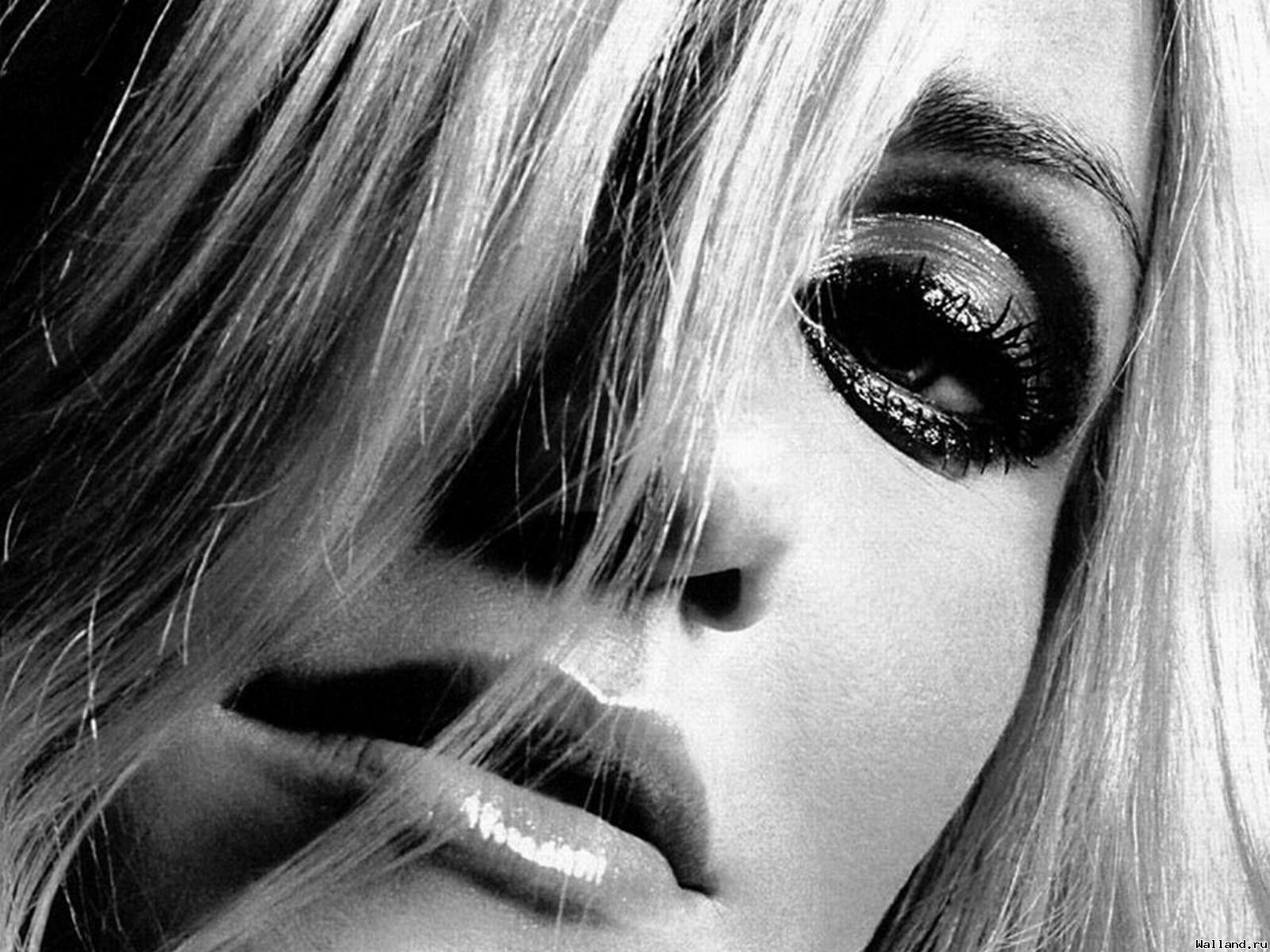 Черно белые фотографии блондинок фото 273-129