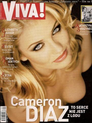 Камерон Диаз на обложках журналов