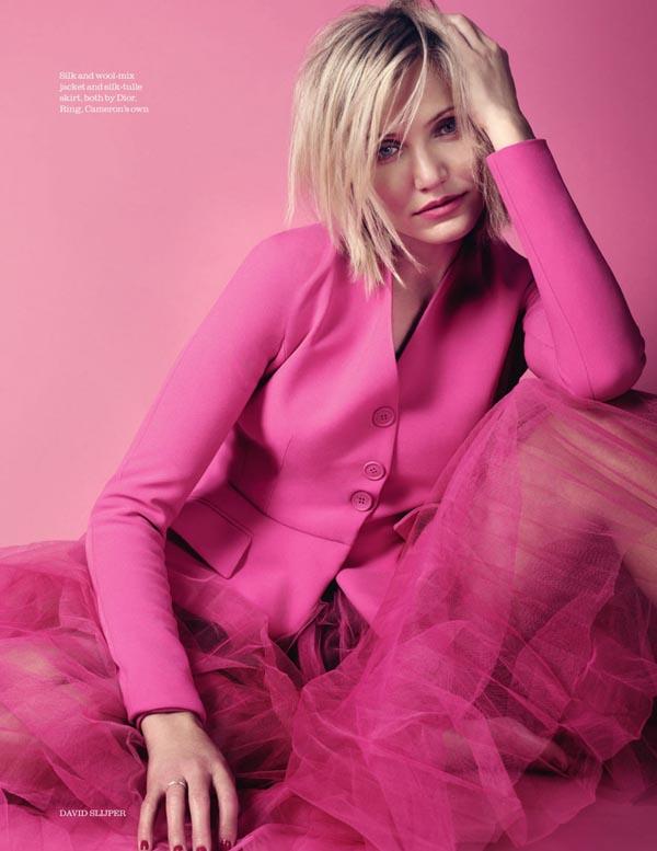 Камерон Диаз в Elle UK