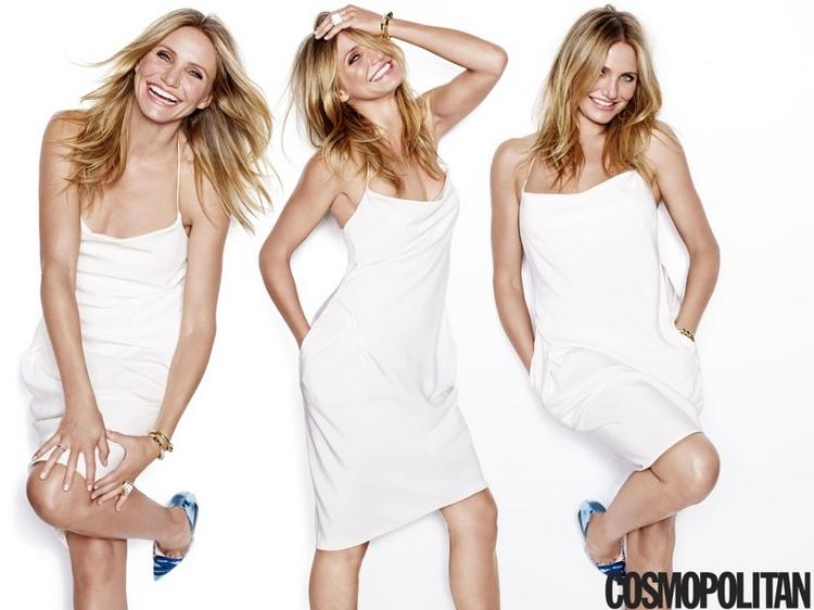 Камерон Диаз для Cosmopolitan USA, январь 2015