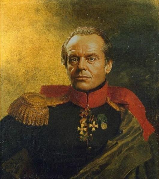 Знаменитости в мундирах русских генералов