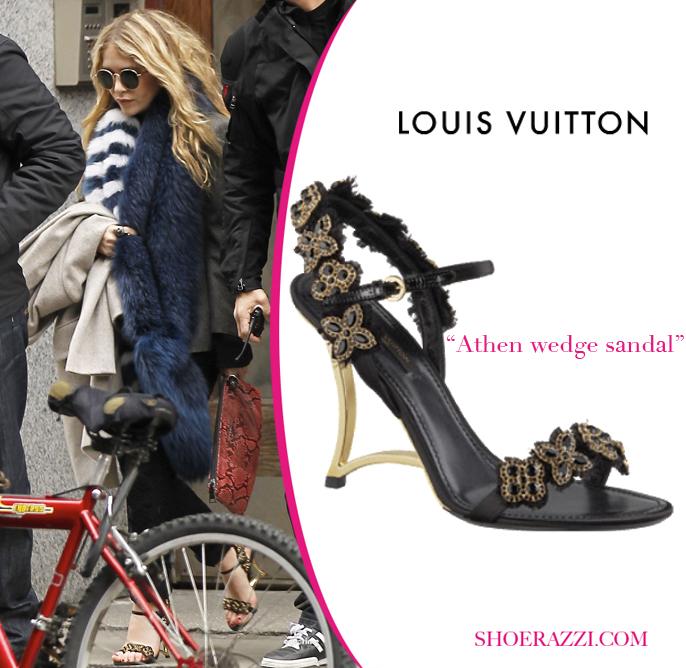 Звездная обувь Мэри-Кейт Олсен