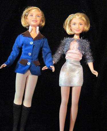Барби - близнецы Мэри-Кэйт и Эшли