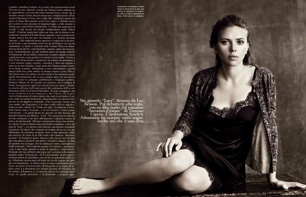 Скарлетт Йоханссон для Vogue Italia, октябрь 2013