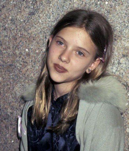 Скарлетт Йоханссон в юные годы